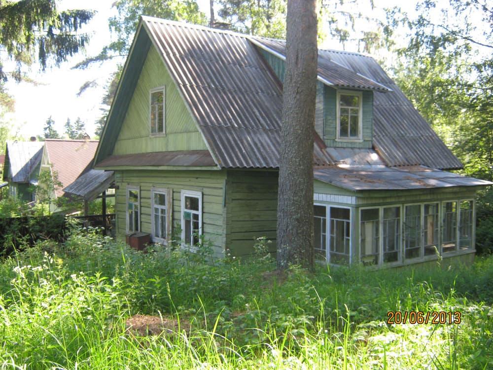 Ремонт деревянного фасада летом - БЫЛО