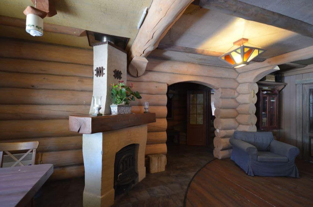 Внутренняя отделка срубового дома